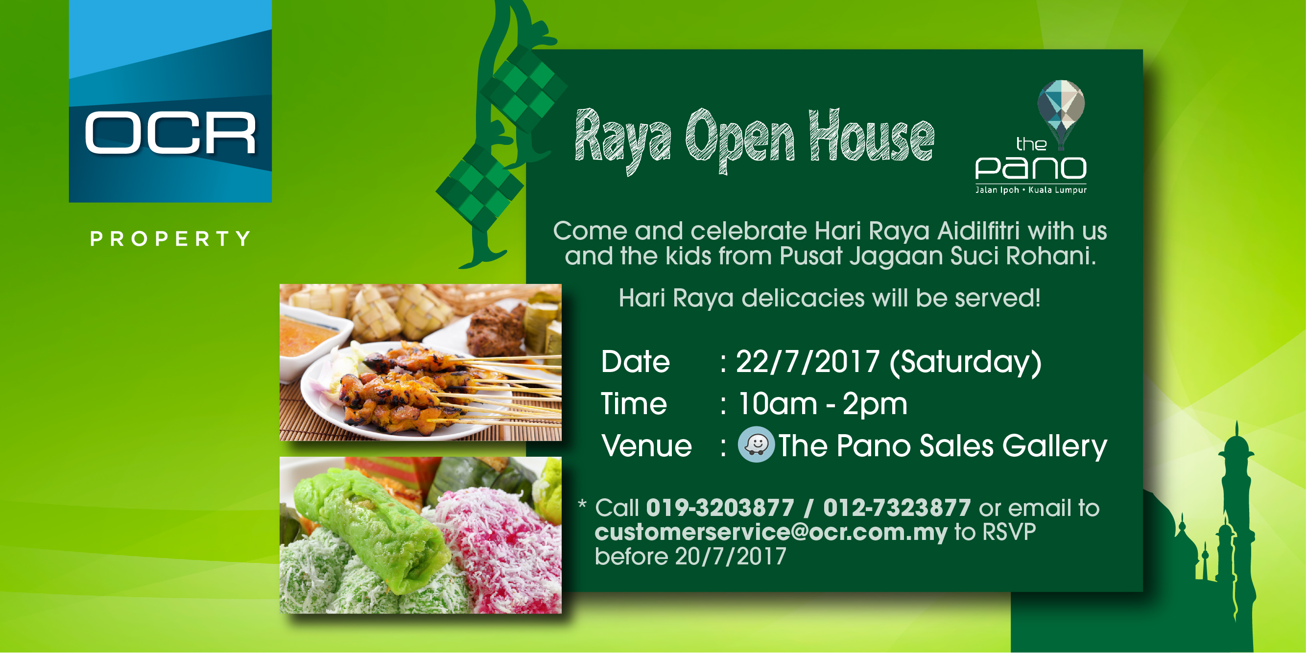 Raya Open House at The Pano