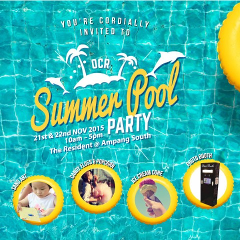 OCR Summer Pool Party