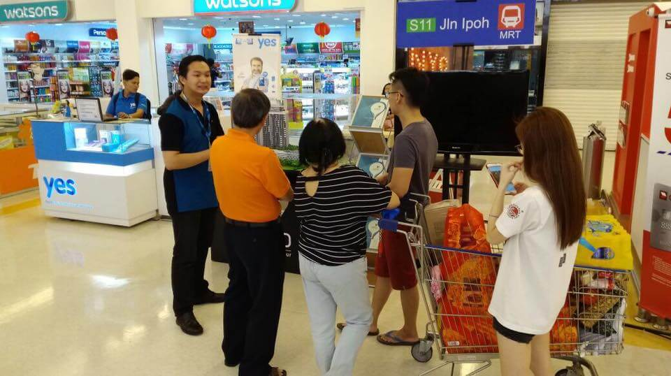 Tesco Mutiara Damansara Roadshow (16th January to 22nd January)