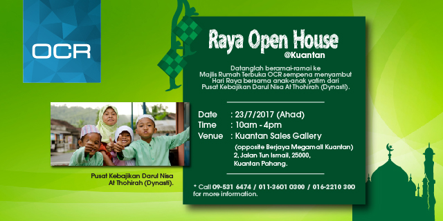 Raya Open House at Kuantan